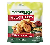 MorningStar Farms Veggie Wings Parmesan Garlic - 10 Oz