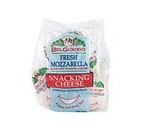 BelGioioso Cheese Mozzarella Fresh Snack - 6-1 Oz