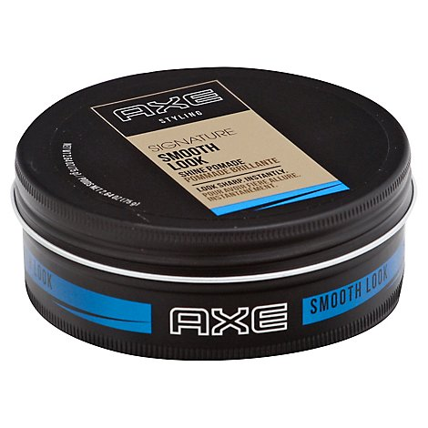 AXE Styling Pomade Signature Shine Smooth Look - 2.64 Oz