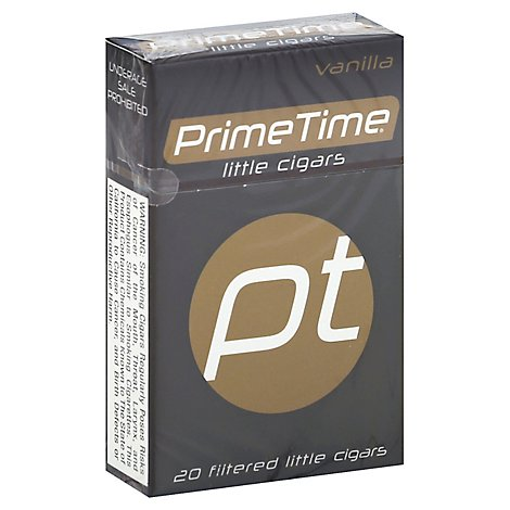 Prime Time Lil Cigar Vanilla - 20 Count