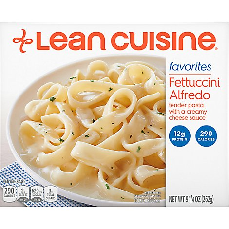 Lean Cuisine Favorites Entree Fettuccini Alfredo - 9.25 Oz