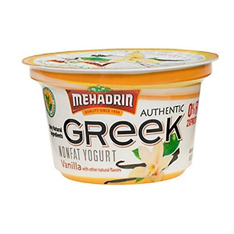 Mehadrin Greek Yogurt Vanilla - 6 Fl. Oz.