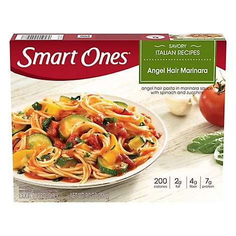 weightwatchers Smart Ones Savory Italian Recipes Angel Hair Marinara - 9 Oz