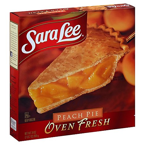 Sara Lee Pie Oven Fresh Peach - 34 Oz