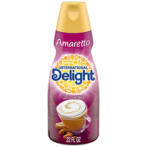 International Delight Coffee Creamer Amaretto - 32 Fl. Oz.