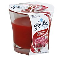 Glade Candle Blooming Peony & Cherry - 3.4 Oz