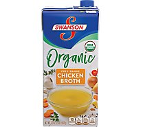 Swanson Broth Chicken Organic Free-Range - 32 Oz