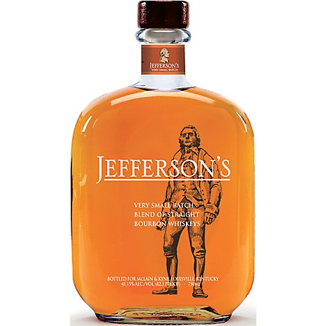 Jeffersons Very Small Batch 82.3 Proof - 750 Ml