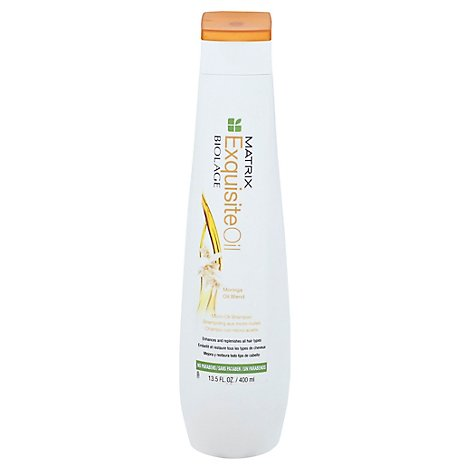 Matrix Biolage Exquisite Oil Shampoo - 13.5 Fl. Oz.