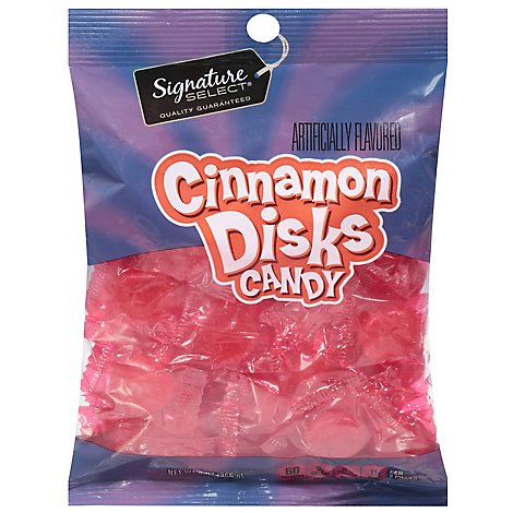 Signature SELECT Candy Cinnamon Disks - 9 Oz