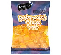 Signature SELECT Candy Butterscotch Disks - 9 Oz