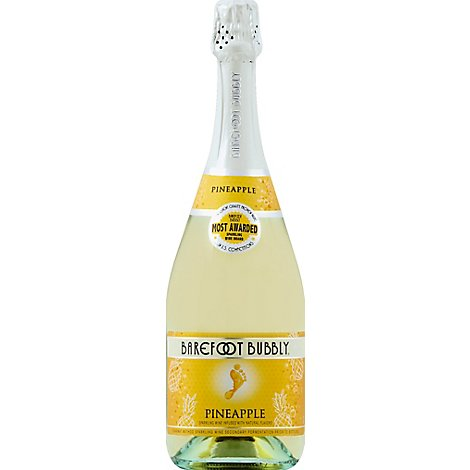Barefoot Bubbly Pineapple Sparkling Wine - 750 Ml