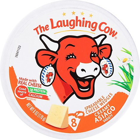 The Laughing Cow Creamy Asiago Cheese Spread 6 oz