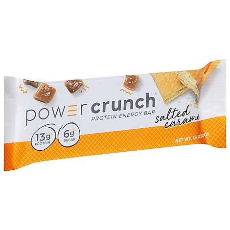 Power Crunch Energy Bar Protein Salted Caramel - 1.4 Oz