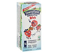 Stonyfield Farm Organic YoKids Squeezers Yogurt Blueberry & Strawberry - 16-2 Oz