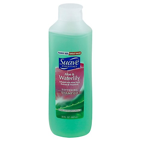 Suave Essentials Shampoo Aloe & Waterlily - 30 Fl. Oz.