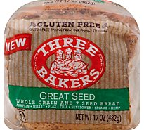 Three Bakers Gf Great Seed Bread - 17 Oz