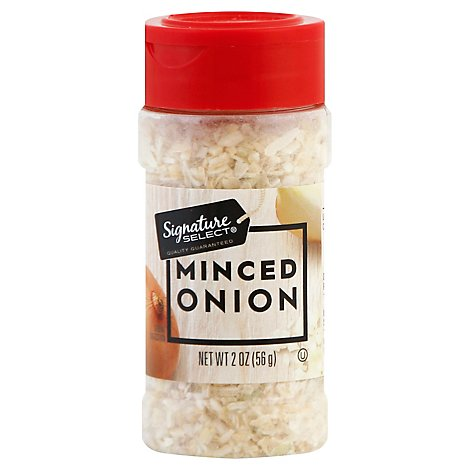 Signature SELECT/Kitchens Onion Minced - 2 Oz
