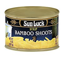 Sun Luck Bamboo Shoot Strip - 8 Oz