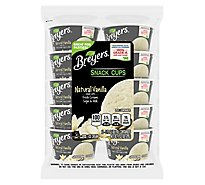 Breyers Ice Cream Snack Cups Natural Vanilla -10-3 Oz
