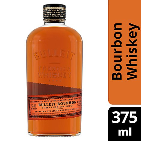 Bulleit Whiskey Kentucky Straight Bourbon 90 Proof - 375 Ml
