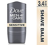 Dove Men+Care Post Shave Balm Sensitive + - 3.4 Fl. Oz.