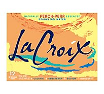 LaCroix Sparkling Water Peach-Pear - 12-12 Fl. Oz.
