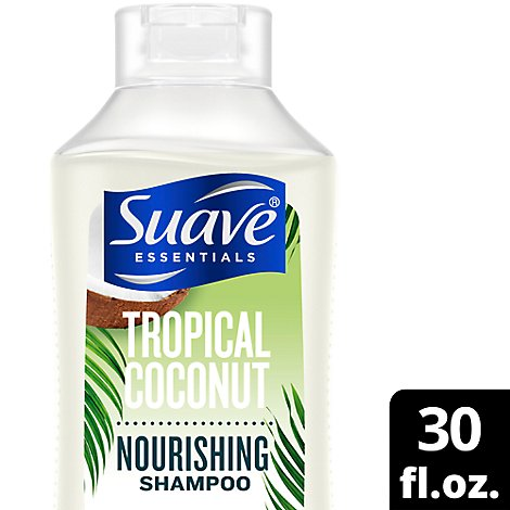 Suave Essentials Shampoo Tropical Coconut - 30 Fl. Oz.
