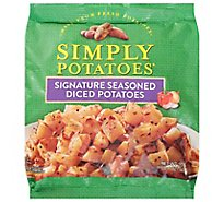 Simply Potatoes Potatoes Diced Steakhouse Seasoned - 20 Oz
