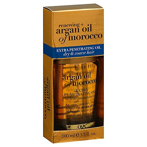 OGX Renewing Extra Penetrating Oil Argan Oil Of Morocco Dry & Coarse Hair - 3.3 Fl. Oz.
