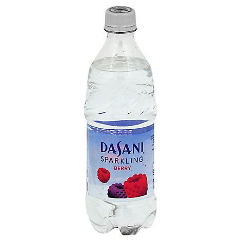 Dasani Water Sparkling Berry Flavored Bottled - 20 Fl. Oz.
