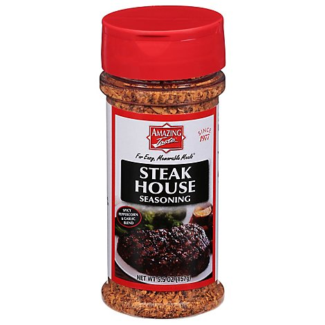 Amazing Taste Steak House Seasoning Jar - 5.5 Oz