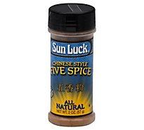 Sun Luck Five Spice Powder - 2 Oz