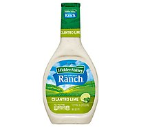 Hidden Valley The Original Ranch Dressing Cilantro Lime - 16 Fl. Oz.