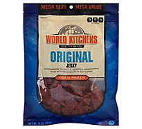 World Kitchens Jerky Sliced & Shaped Original - 10 Oz