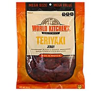 World Kitchens Jerky Sliced & Shaped Teriyaki - 10 Oz