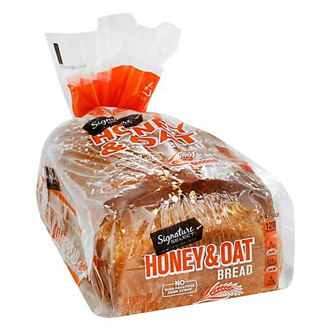 Signature SELECT Bread Oat & Honey - 24 Oz