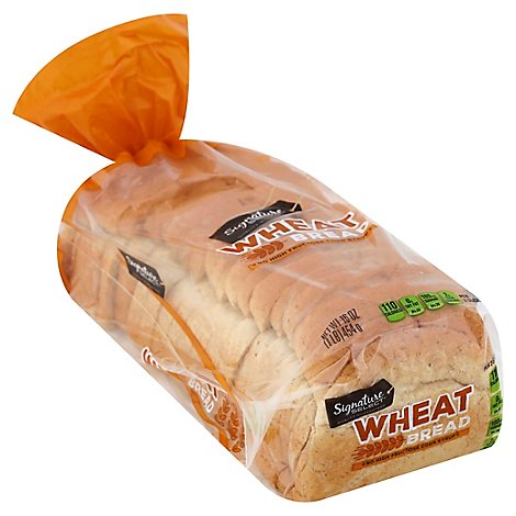 Signature SELECT Bread Wheat - 16 Oz