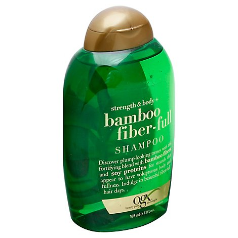 OGX Shampoo Bamboo Fiber-Full Strength & Body - 13 Fl. Oz.