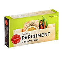 PaperChef Parchment Culinary Cooking Bags Easy-Prep - 10 Count