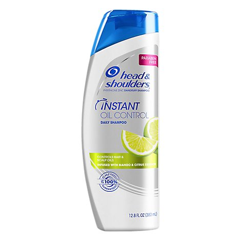 Head & Shoulders Shampoo Daily Instant Oil Control With Mango & Citrus Essence - 12.8 Fl. Oz.