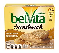 belVita Breakfast Biscuits Peanut Butter - 5-1.76 Oz