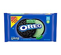 Oreo Cookies Sandwich Chocolate Mint Creme Family Size - 20 Oz