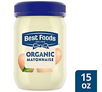 Best Foods Organic Mayonnaise Cage Free Eggs - 15 Oz