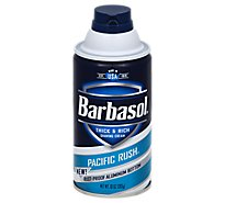 Barbasol Shave Cream Pacific Rush - 10 Oz
