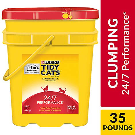 Tidy Cats Cat Litter 24/7 Performance - 35 Lb