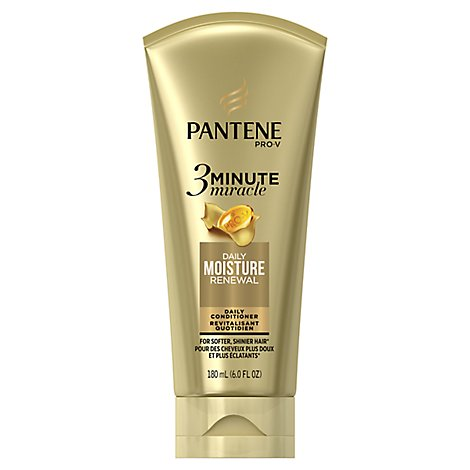 Pantene Pro-V 3 Minute Miracle Conditioner Deep Moisture Renewal - 6 Fl. Oz.