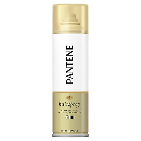 Pantene Pro V Level 5 Maximum Hold Hairspray for Maximum Hold Texture and Finish - 11 Oz