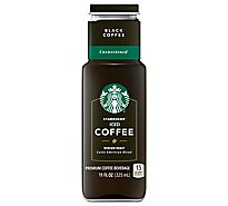 Starbucks Coffee Beverage Premium Iced Coffee Black Coffee Unsweetened - 11 Fl. Oz.