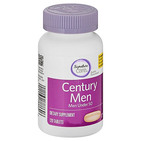 Signature Care Century Multi Vitamin Mens Tablets - 120 Count